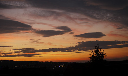 Sunrise over Horwich