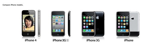 Compare iPhone Models (Complete) (2/3)