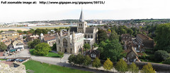 From Rochester Castle (Gigapan)