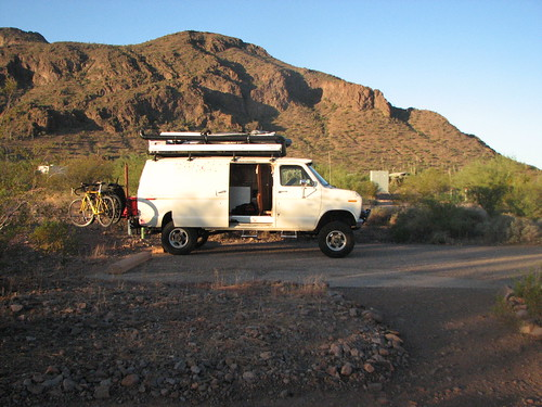 The Van in the Desert