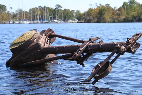 Kayaking - Pasquotank River - Old Winch