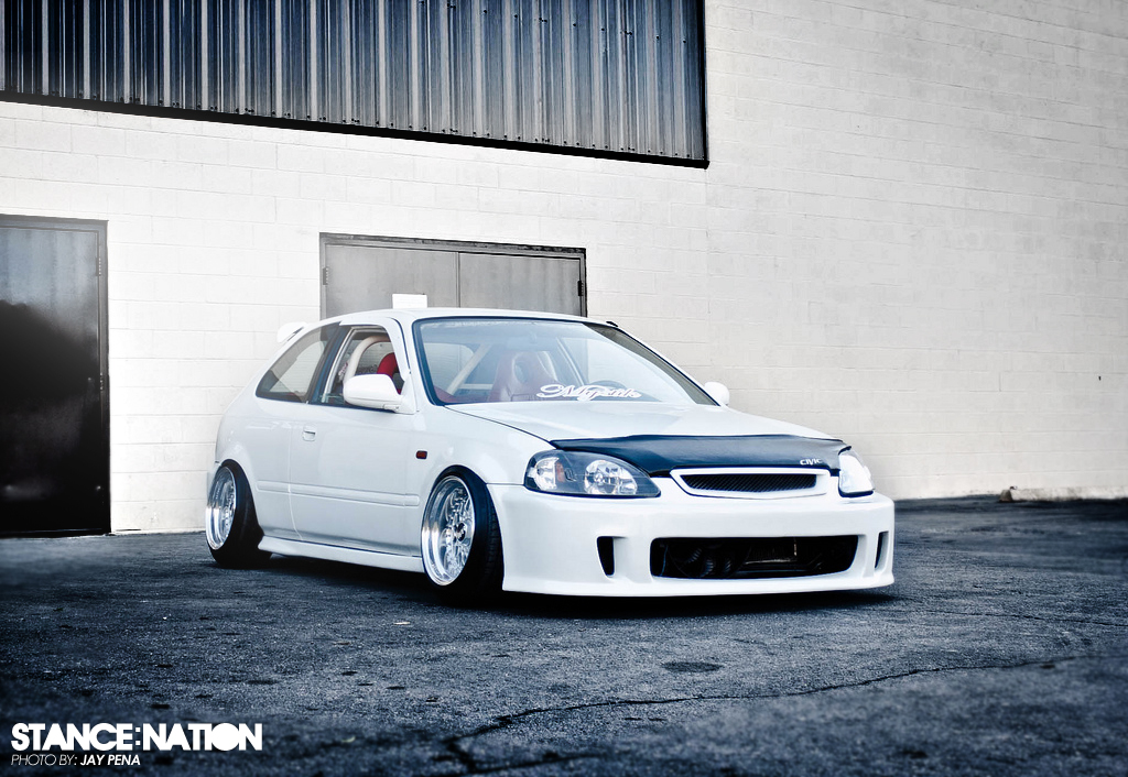 Bagged Honda  StanceNation  Form  Function