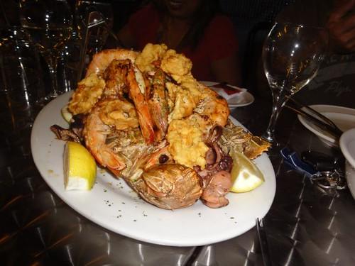 Zino: Grilled seafood combo
