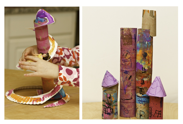 DIY Doll Slides and Castles