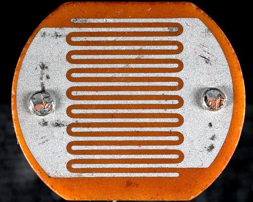 lenswrangler digikam eye macromondays electronic component photoresistor macro resistor electriceye cadmiumsulphide detector sensor