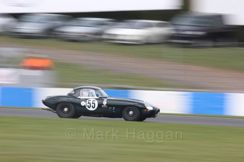 The Jaguar Challenge at the Donington Historic Festival 2017