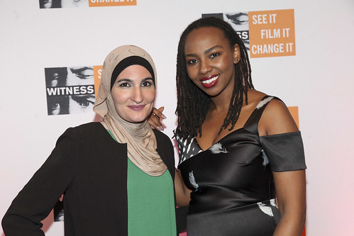 Linda Sarsour and Opal Tometi