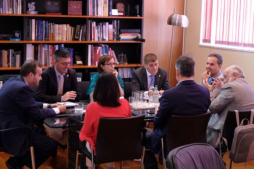 Reunión con el rector de la ULPGC (16-05-2017)