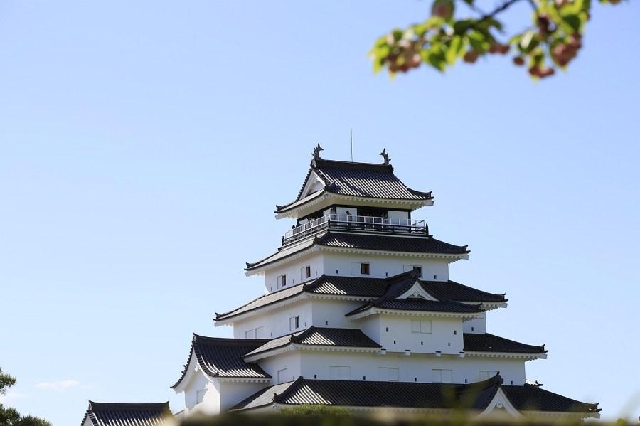 日本福島,會津若松城,福島自駕遊,茶室麟閣 @VIVIYU小世界