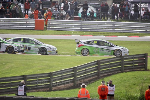 BTCC action at Oulton Park, May 2017