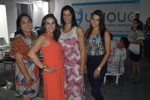 Fátima, Arlane, Maria Aparecida e Jéssica