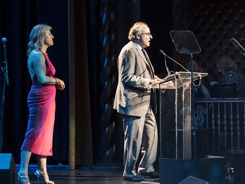 Honorees Josh Mailman and Monica Winsor speak at WITNESS' 25th Anniversary Benefit