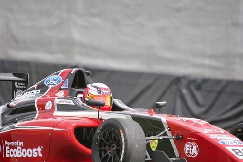 Jamie Sharp in British Formula Four at Oulton Park, May 2017