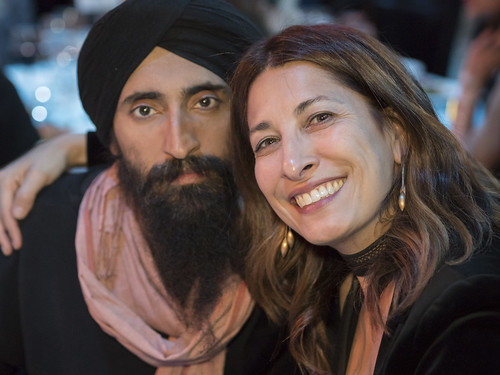 Waris Ahluwalia and Reyna Mastrosimone