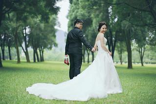 Pre-Wedding [ 中部婚紗 – 森林草原系列海邊 ] 婚紗影像 20160811 - 13