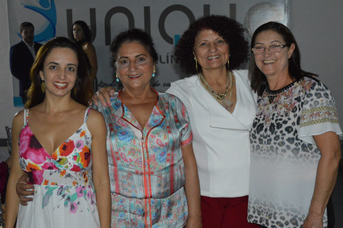 Elke, Maria Helena, Eunice e Nenzinha
