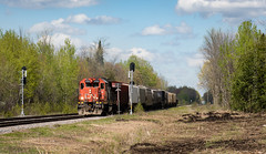 CN589 outside of Maxville