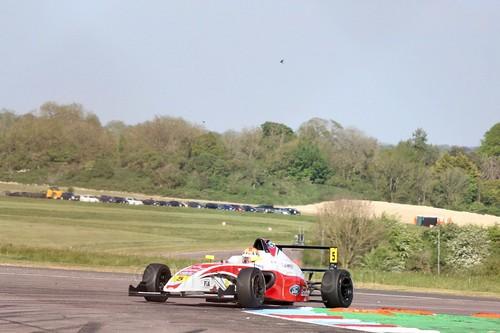 Oliver York in British Formula Four at Thruxton, May 2017