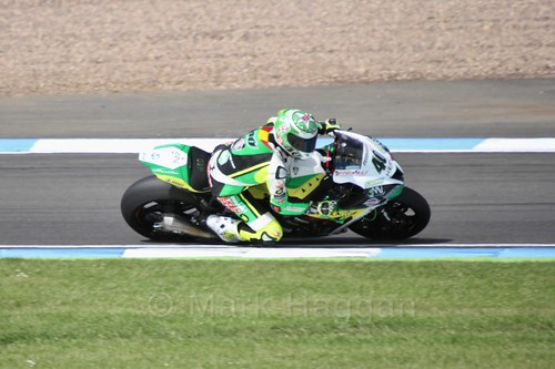 Roman Ramos in World Superbikes at Donington Park, May 2017