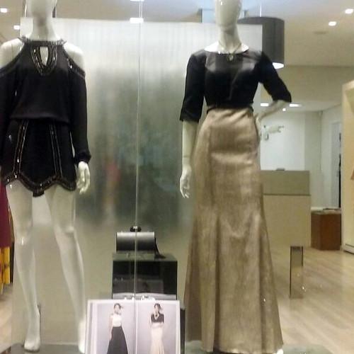 Vestido Tônage e Chita Chique