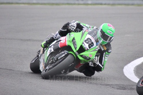 Randy Krummenacher in World Superbikes at Donington Park, May 2017