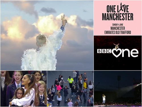 Today is all about...One Love Manchester