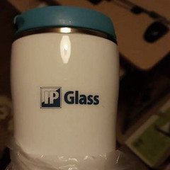 IP Glass Kubek termiczny z nadrukiem