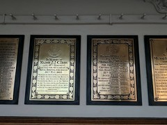 Could spend hours reading all these plaques on the wall