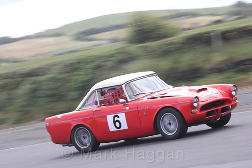 Edmund Cassidy in the HRCA Historic Sports Cars at Kirkistown, June 2017