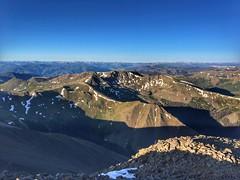 San Luis Peak summit view to the west