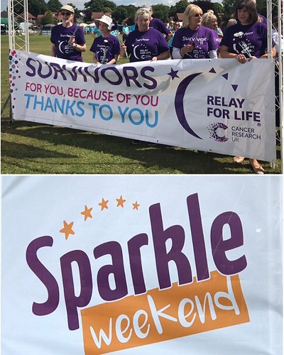 Today is all about...Relay and Sparkle