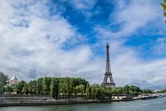 Eiffel Tower & Orthodox church at left