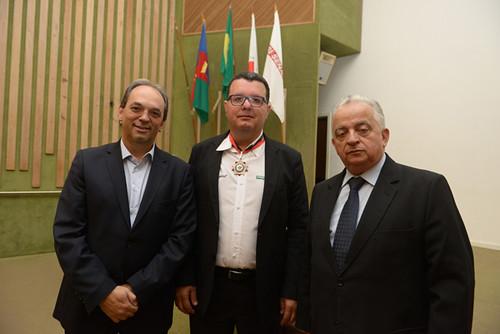 Luciano, MArcelo e Olavo