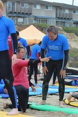 Senior Surfing Lesson
