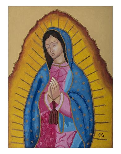 Autor: CLAUDIA MARIA GAXIOLA FIERRO, Nuestra Madre  40x50 cm