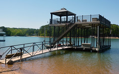 Double Slip Docks - Sundeck / Upper Deck Shade