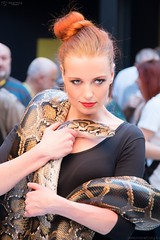 Girl with a snake 02