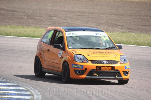 Simon Horrobin in the Fiesta championship Class C at Rockingham, June 2017