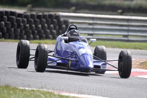 John Ferguson in the Formula Ford FF1600 championship at Kirkistown, June 2017