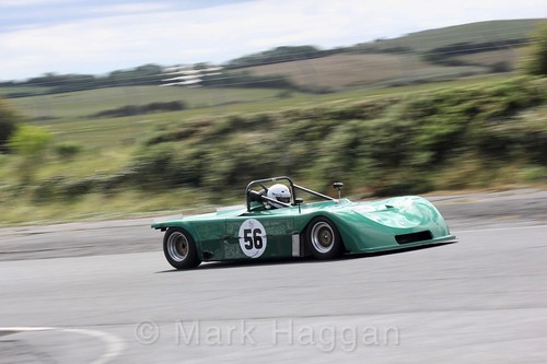 John Benson in the HRCA Historic Sports Cars at Kirkistown, June 2017