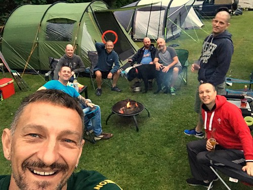 Today is all about...when gays go camping