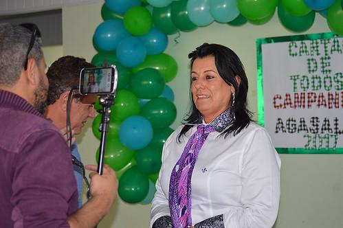 Mara Vilar entrevistada pelo Plox