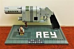 Rey's NN-14 Blaster Pistol