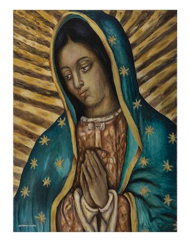 Autor: ANTONIO NUÑO SANCHEZ, Mi morenita  50x60 cm