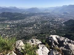 Grenoble depuis le Saint Eynard