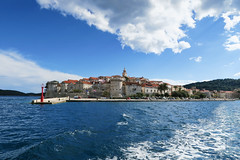 Leaving Korcula