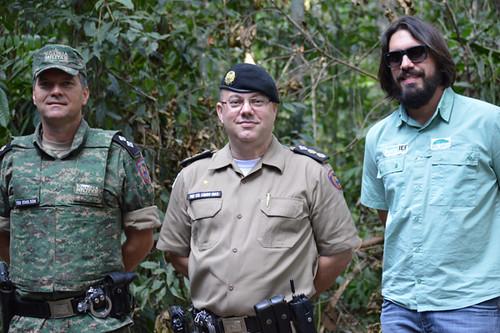 Tenente Edmilson, Tenente Coronel Lemos Dias e Vinícius Assis