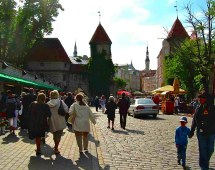 World' Of Estonia And Paesaggi