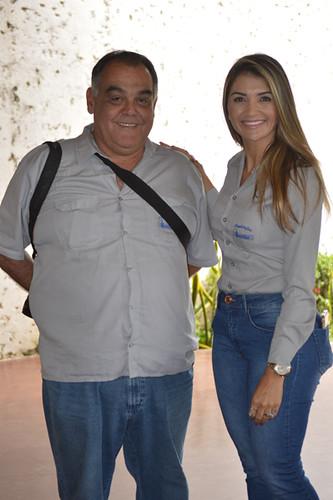 Lucas Guerra e Graziele Torquetti