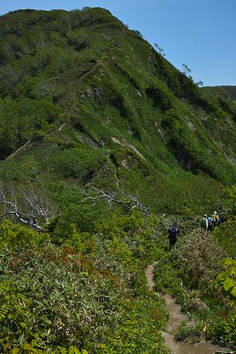 Mt. Kamuishiri 神居尻山 登山 ピークはもうすぐ